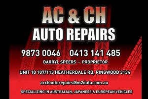 A C & C H Auto Repairs